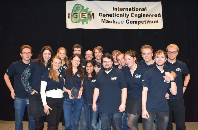 Photo of the iGEM Team 2014