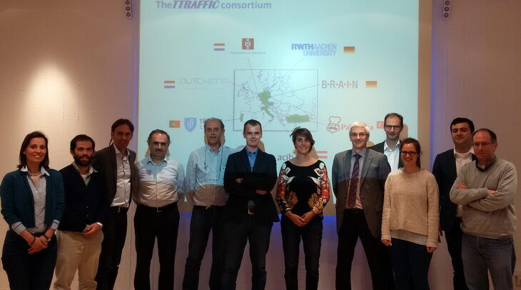 Participants of the TTRAFFIC-Kickoff meeting in Aachen